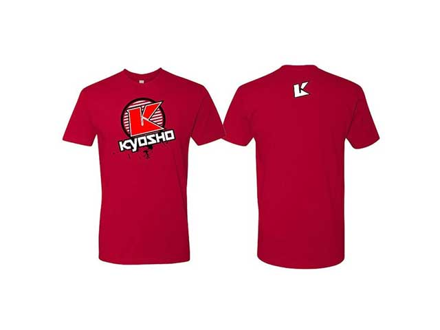 Kyosho T-Shirt K-Fade 2.0 Red Kyosho XL K.88002xl