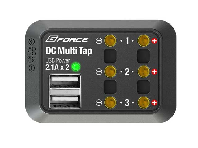 G-FORCE G0244 DC Multi Tap