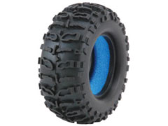 Team LOSI LOSB1480B 1.9 Mini Rock Claw Tire, Blue (2)