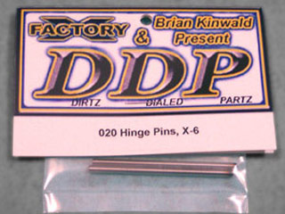 X-Factory DDP020 Hardened Steel X - 6 Hinge Pins