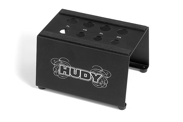 HUDY 108170# HUDY Off-Road Car Stand(1/8バギー&トラギー)