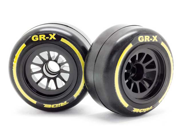 Volante Preglued Carpet Rear Rubber Slick Tires Soft Compound For F1 RC #VF1-CRS
