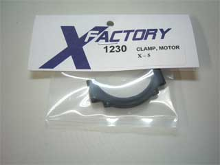 X-Factory #1230 Clamp, motor, X-5
