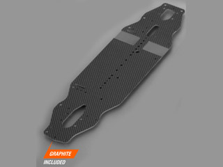 XRAY 301145# 【T4-2018】 Chassis 2.2mm Graphite